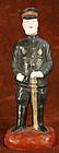 Rare Fushimi Clay Figure of a Sino-Japanese War Soldier