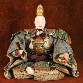 Edo Period Ningyo of Toyotomi Hideyoshi