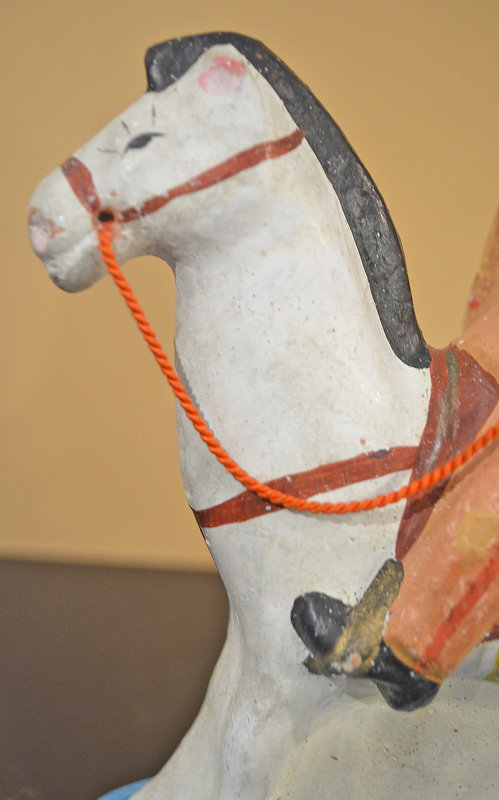 Clay Sino-Japanese War General on a White Horse