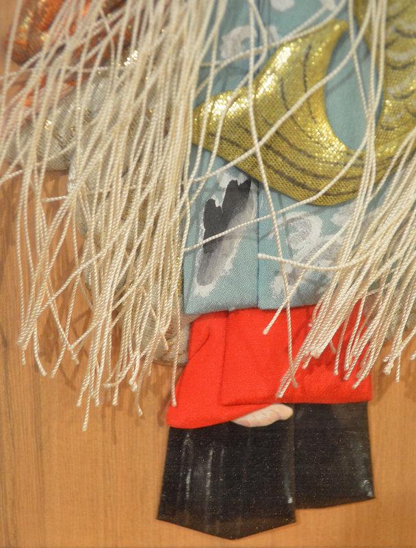 Japanese Oshi-e Ningyo of a High-Ranking Oiran Geisha
