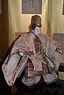 Japanese Meiji Period Musha Ningyo Doll of Emperor Ojin