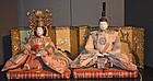 Japanese Dairi-bina Imperial Couple Girl's Day Dolls