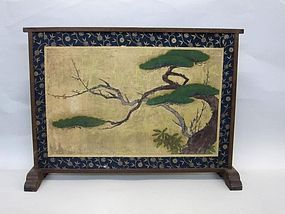 Rare 18th Century Japanese Tea Ceremony Screen