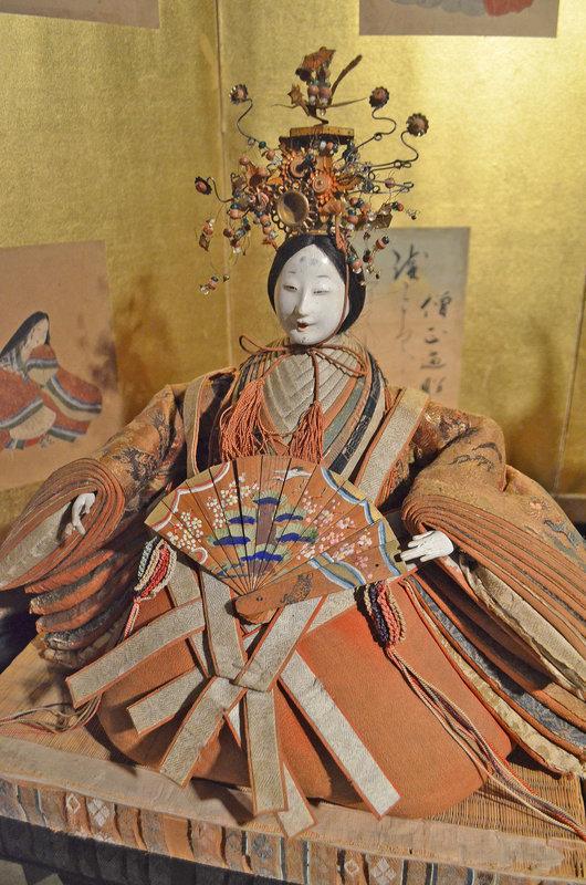 18th Century Edo Period Kyoho-bina Ningyo