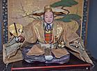 Spectacular Edo Period Toyotomi Hideyoshi Musha Ningyo