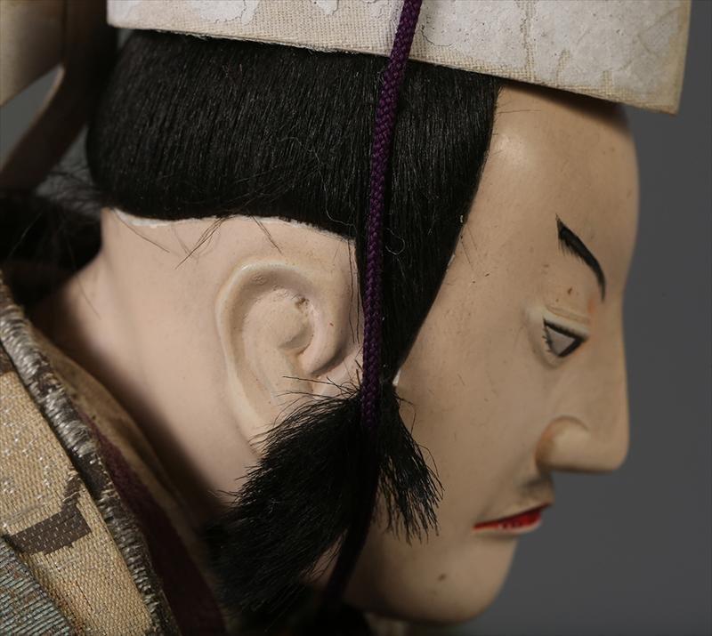 Munga Ningyo of a Samurai by Toyotomi Hideyoshi, Late Edo Period