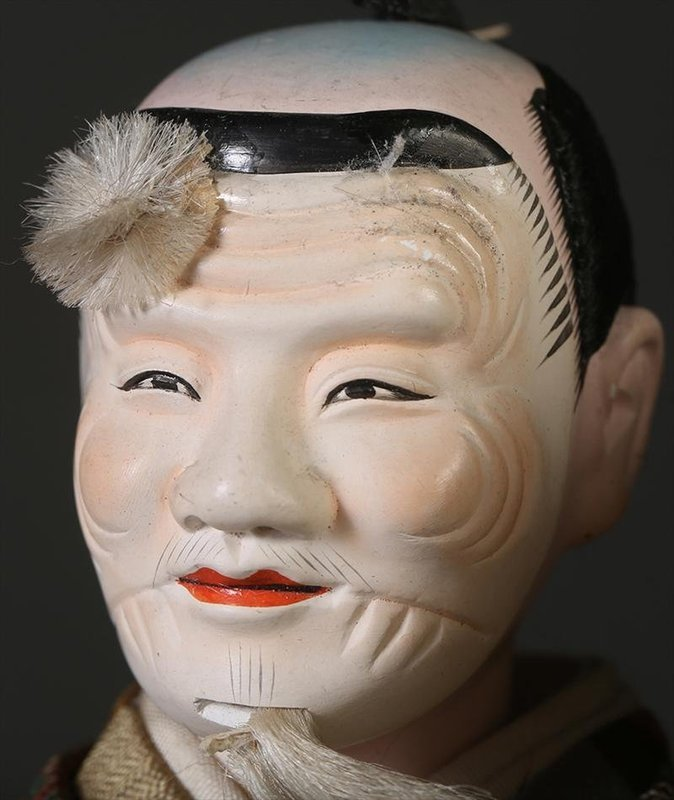 Isho Ningyo of a Noh Actor