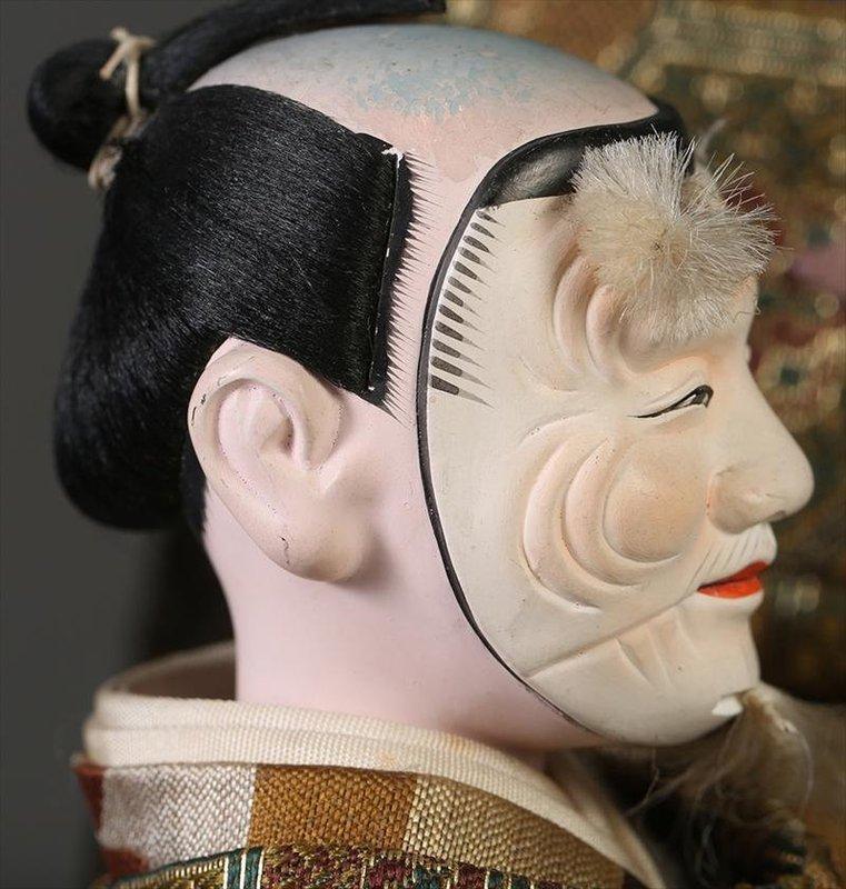Isho Ningyo of a Noh Actor