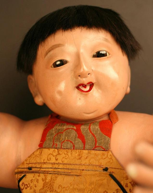 Early and Fine Example of Kintaro, Boys' Day Doll