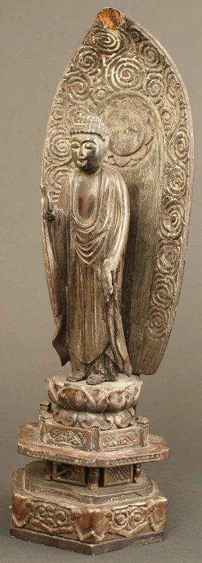 Early Edo Period Buddhist Sculpture, 17th Century