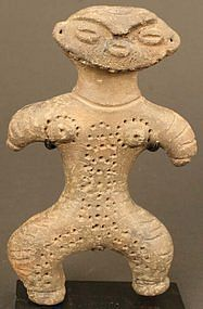 Fine Jomon Period Dogu Figure from 800 BC