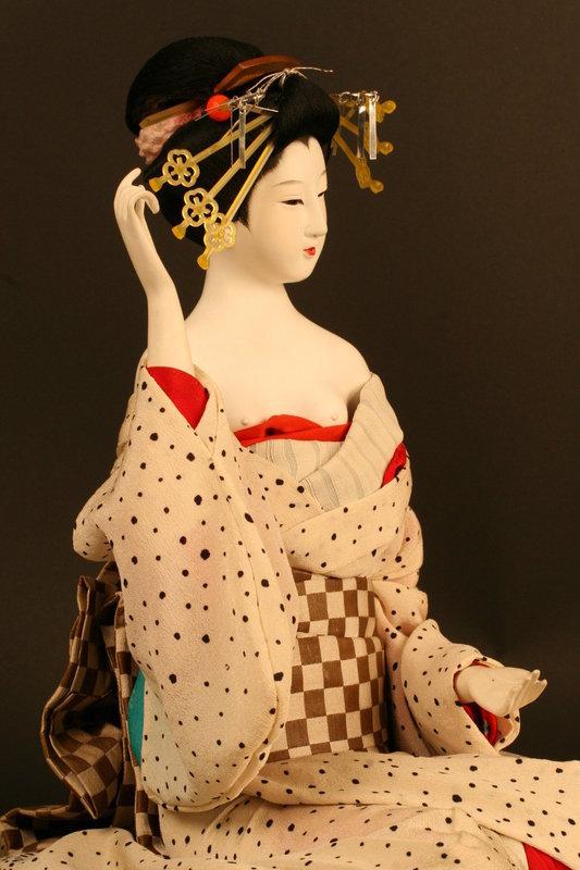 Oiran Ningyo by Court Doll Maker Ito Hisashige XI