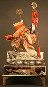 Large and Elaborate Takeda Ningyo of Akechi Mitsuhide