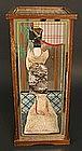 Unique Artistic Creation of Geisha in Mirror Box