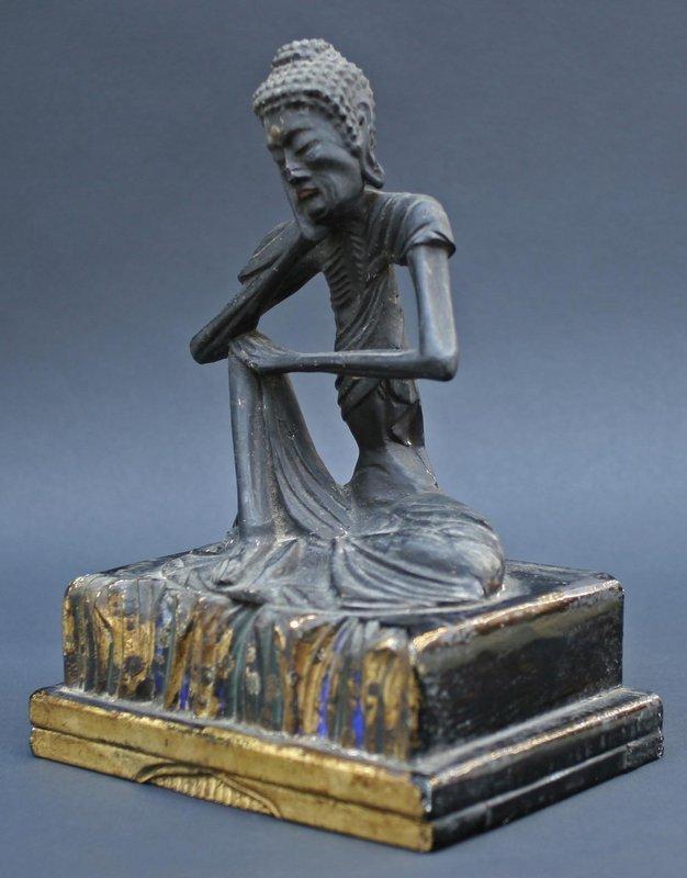 Very Rare, Fine 17th Century Ascetic Buddha Sculpture