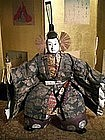Minamoto no Yoshitsune Musha Ningyo in Court Attire