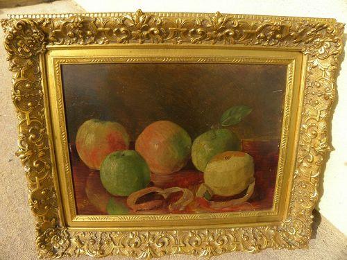 JULIUS G. SEGALL (1860-1925) American still life painting