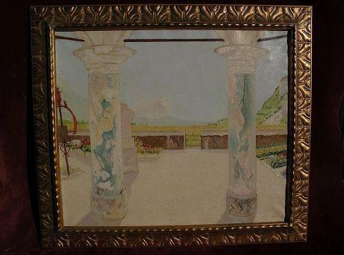 HERMANN URBAN (1866-1946) fine European painting by acclaimed German Munich School master