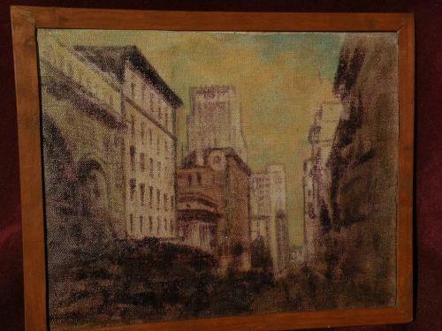 JOHN HENRY RAMM (1879-1948) California artist San Francisco painting