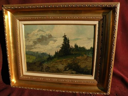 LASZLO NEOGRADY (1896-1962) early painting by the noted Hungarian impressionist artist