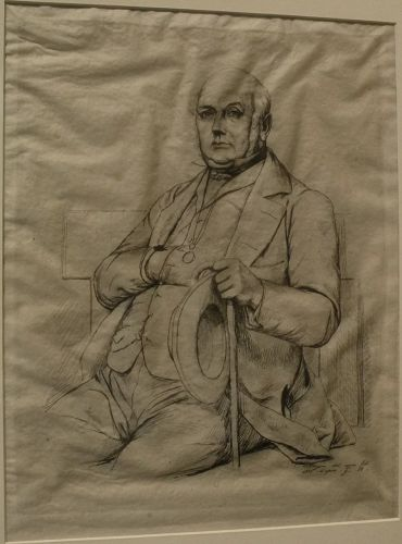 CHARLES MERYON (1821-1868) original etching of Casimir Le Conte by the important 19th century French etcher