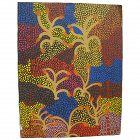 Australian aboriginal art original 1992 painting by JUNE BIRD NGALE (1954-)