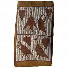 Australian aboriginal art bark painting