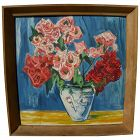 Vintage still life painting by German artist