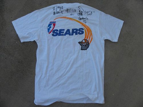 Los Angeles Sparks signed autographed t-shirt championship team