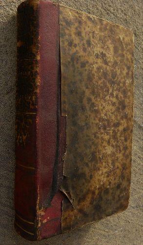 Antique book Geneva Switzerland Geneve 1730