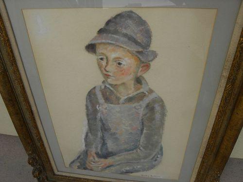 HARLEY PERKINS (1883-1964) American painting Boston artist