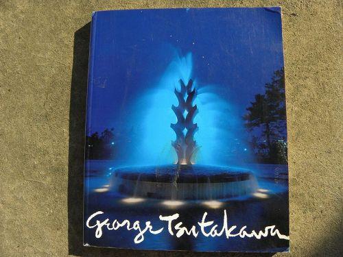 GEORGE TSUTAKAWA (1910-1997) signed book on Northwest School artist