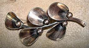 Classic NE From Flower Pod Pin Denmark