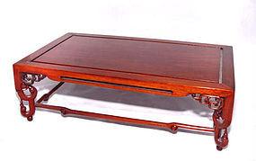 Japanese Wooden Display Stand - Showa Era