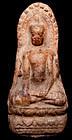 Terracotta Votive Amulet of Buddha
