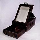 Chinese Blackwood Vanity Case - Qing  19th Century