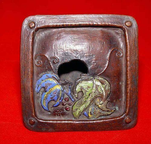 Japanese Cloisonne Incense Burner -19 Century
