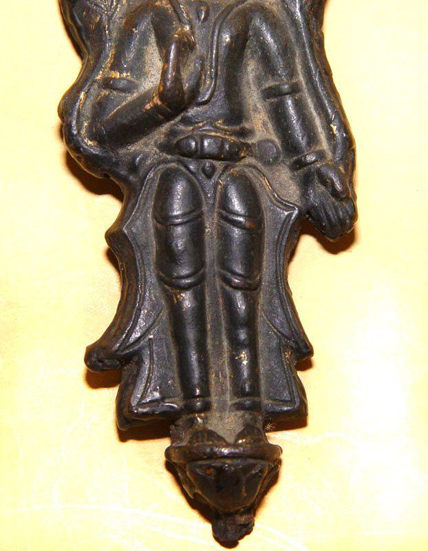 Rare Chinese Tang Bronze Warrior - 618 - 907 AD