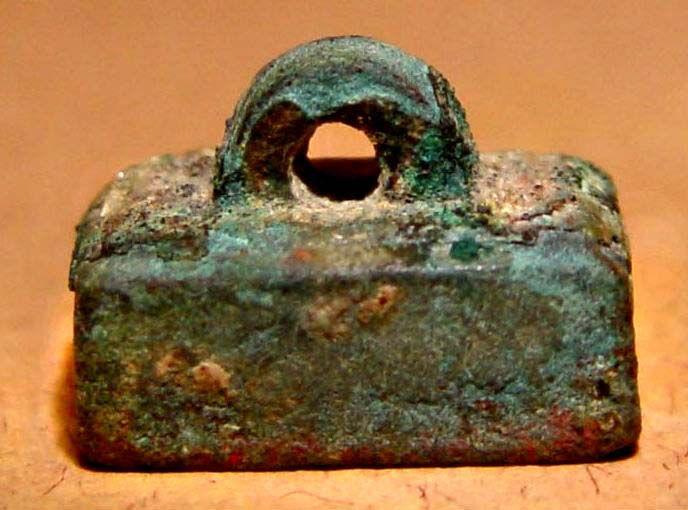 Rare First Emperor Qin Bronze Seal -  221 - 206 BC