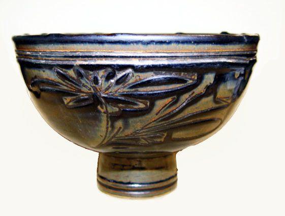Rare Large Chinese Jin Stem Bowl - Jin Dynasty 1115 - 1234 AD