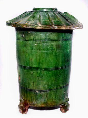 Green Glazed Han Granary - 206 BC - 220 AD