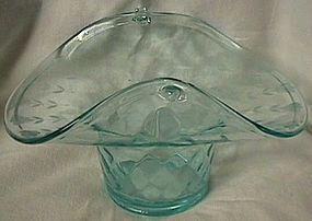 Fenton Diamond Optic Aqua Basket