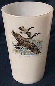 Fire King Game Birds Tea Tumbler Canada Goose