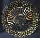 """Waterford Crystal Dinner Plate 9.5"""" Hocking Glass Company"""