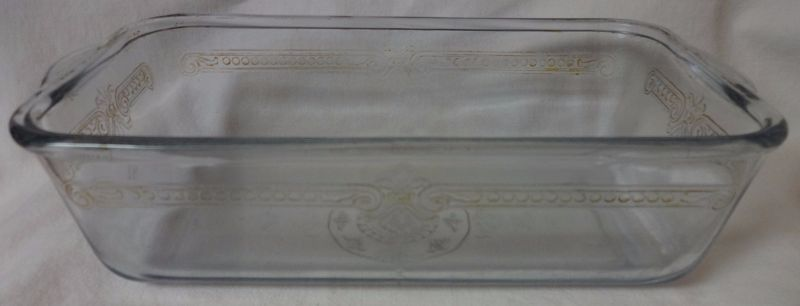 """Sapphire Blue Loaf Pan 9 1/8 x 5 1/8"""" Fire King Anchor Hocking Glass"""
