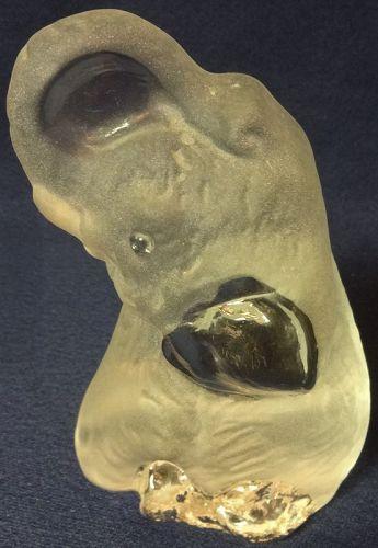 "Elephant Crystal 4.75"" Viking Glass Company"