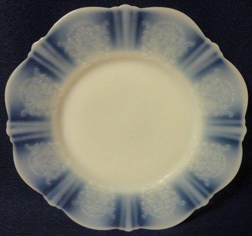 "American Sweetheart Monax Luncheon Plate 9.25"" Mac Beth Evans Glass"