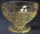 "Hermitage Crystal Low Foot Sherbet 3"" 7 oz Fostoria Glass Company"