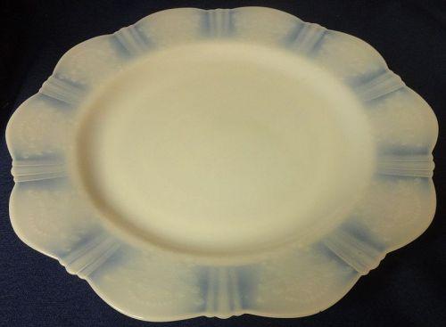 "American Sweetheart Monax Dinner Plate 10.25"" Mac Beth Evans Glass"
