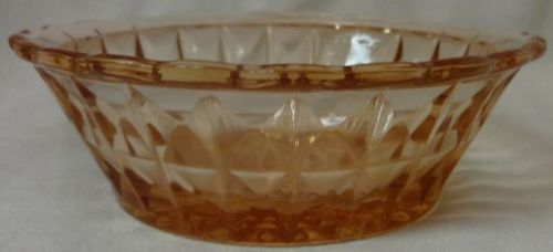 """Windsor Pink Berry Bowl 4.75"""" Jeannette Glass Company"""